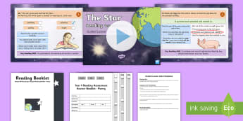 Year 4 Term 1 Poetry Reading Assessment Guided Lesson Teaching Pack - KS2, reading, read, assessment, guided, guidance, assess, powerpoint,