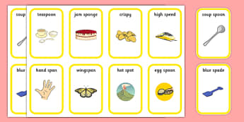 Word Medial SP Playing Cards - speech sounds, phonology, articulation, speech therapy, cluster reduction