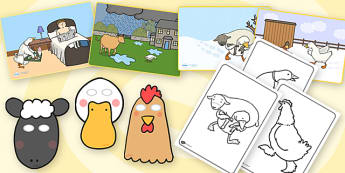 Farmer Duck Story Sack - stories, story books, reading, books