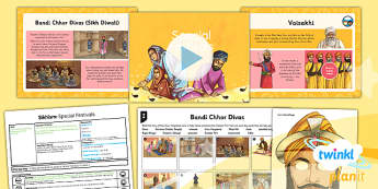 PlanIt - RE Year 3 - Sikhism Lesson 4: Special Festivals Lesson Pack - Bandhi Chhor Divas, Vaisakhi, Guru Hargobind, Guru Gobind Singh, Khalsa