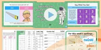 PlanIt English Y1 Term 3A W4: vowel digraphs 'aw' and 'au' Spelling Pack - Spellings Year 1, Term 3A, W4, vowel, digraph, aw, au