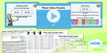 PlanIt Y6 Number and Place Value Lesson Pack - Number and Place Value