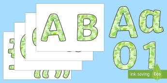 Garden Display Lettering - garden, display lettering, display, lettering, letter, letters, words, alphabet