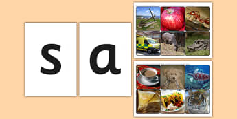 Phase 2 Letters with Matching Initial Sounds Photographs - sound, a-z