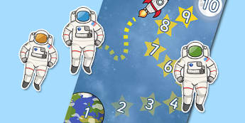 Astronaut (Space) Reward Chart - education, home school, child development, children activities, free, kids, chart for free, free charts, children chart, chore chart, printable charts, star charts