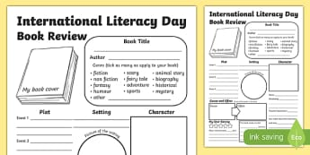 International Literacy Day KS2 Book Review