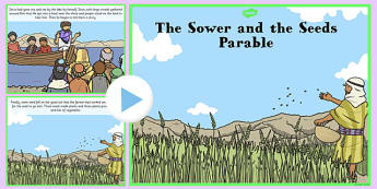 The Sower and the Seeds Parable PowerPoint - parables, sower