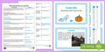Cinderella Discovery Sack - cinderella, discovery sack, sack