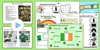 St Patricks Day Teaching Pack - planning, plan, teach, celebrate