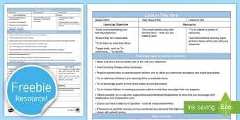 Guided Secondary Lesson Plan Template Editable Proforma - secondary lesson plan, NQT, interview lesson, planning template, lesson plan