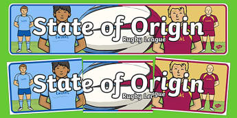 State of Origin Display Banner