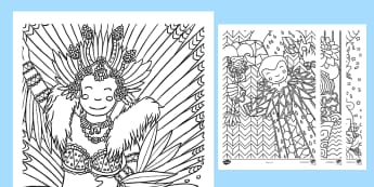 Coloriages : Carnaval: Carnaval - coloriages, cycle 1, cycle 2, cycle 3, carnaval, Mardi Gras