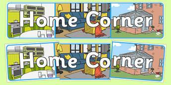 Home Corner Display Banner - home corner, display banner, display, banner, banner for display, display header, header, header for display, header display