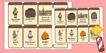 The Gunpowder Plot Flashcards Polish Translation - polish, gunpowder