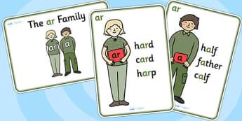 ar Sound Family Member Posters - ar sound, ar sound posters, ar posters, ar family, ar sound family posters, posters