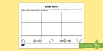 National Reconciliation Week Eddie Mabo Timeline Activity Sheet - Australia English National Reconciliation Week 27 May - 3 June, Year 3, Year 4, Year 5, Year 6, Abor