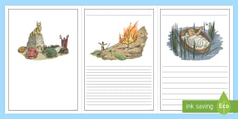 Exodus Story Writing Frames - exodus writing frames, bible stories, moses,