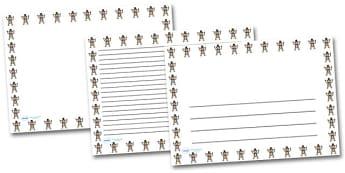 Monkey Portrait Page Borders- Portrait Page Borders - Page border, border, writing template, writing aid, writing frame, a4 border, template, templates, landscape