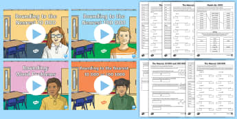Rounding to the Nearest 10,000 and 100,000 Lesson Pack - Year 5, maths, mathematics, numeracy, lesson, lesson pack, PowerPoint, activity sheet, problem solvi