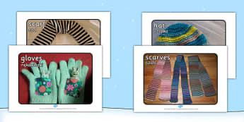 Winter Clothes Display Photographs Polish Translation - polish, winter, clothes, display, photographs, photos