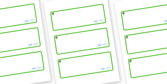 Katsura Tree Themed Editable Drawer-Peg-Name Labels (Blank) - Themed Classroom Label Templates, Resource Labels, Name Labels, Editable Labels, Drawer Labels, Coat Peg Labels, Peg Label, KS1 Labels, Foundation Labels, Foundation Stage Labels, Teaching
