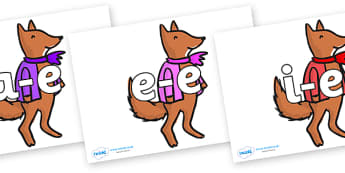 Modifying E Letters on Small Fox 4 to Support Teaching on Fantastic Mr Fox - Modifying E, letters, modify, Phase 5, Phase five, alternative spellings for phonemes, DfES letters and Sounds