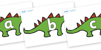 Phoneme Set on Dinosaurs - Phoneme set, phonemes, phoneme, Letters and Sounds, DfES, display, Phase 1, Phase 2, Phase 3, Phase 5, Foundation, Literacy