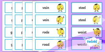 PlanIt Spelling Year 3 Term 2B Word Cards - Spellings Year 3, Y3, spag, gps, cards, spellings, Apply their growing knowledge of root words, pref