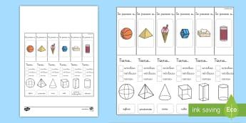 Ayuda visual: Las propiedades de las figuras 3D - figuras 3D, cuerpos geométricos, mates, matemáticas, geometría, aristas, vértices, caras, ayuda,