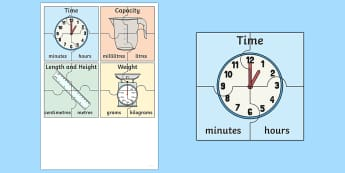 Units of Measurement Jigsaw Activity - Measurement, units of measure, standard units of measurement, measure, measuring