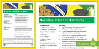 Brazilian Fried Chicken Bites Recipe-Australia - RIO Olympics, recipe, brazilian food, brazilian recipe, fried chicken bites, food, cooking, fun, cre