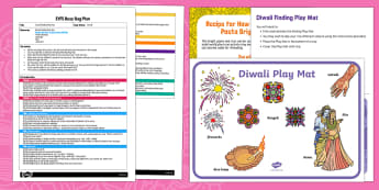 EYFS Diwali Finding Busy Bag Plan and Resource Pack