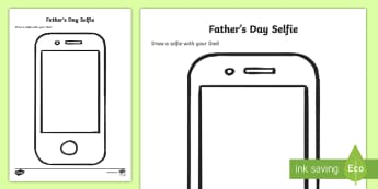 Father's Day Selfie Activity - NI, Northern Ireland, Father's, fathers, dad, dads, daddy, Selfie, phone, camera, snapshot, photo,