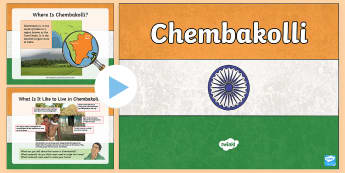 Chembakolli Activity PowerPoint - geography, India, fairtrade Tamil Nadu, Nilgiri Hills, sustainable, F Adivasi, tea, Locate the world