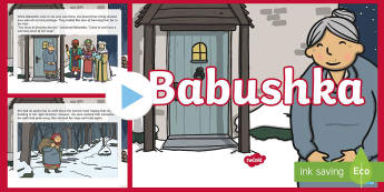 Babushka Story PowerPoint - Babushka, Russia, story, Christmas, Xmas, gifts, legend, myth, traditional, tale, Jesus, birth, wise