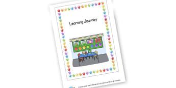 Learning Journey Cover - KS1 & EYFS Learning Journey Resources - Learning Journey, EYFS
