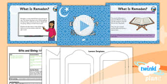 PlanIt - RE Year 1 - Gifts and Giving Lesson 4: What is Eid al-Fitr? Lesson Pack - Eid al-Fitr, Ramadan