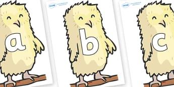 Phoneme Set on Owl Babies - Phoneme set, phonemes, phoneme, Letters and Sounds, DfES, display, Phase 1, Phase 2, Phase 3, Phase 5, Foundation, Literacy