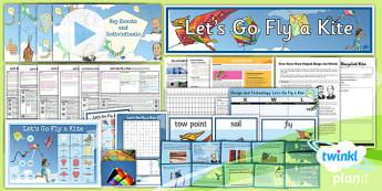 PlanIt - DT LKS2 - Let's Go Fly a Kite Unit Pack - planit, dt, pack, unit