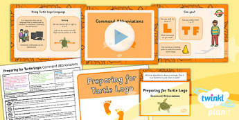 PlanIt Computing Preparing for Turtle Logo Command Abbreviations
