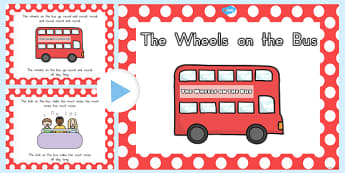 The Wheels on the Bus PowerPoint - australia, wheels, bus, rhyme