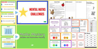 Mental Maths Games - mental maths, games, activities, ks2 - mental maths games, mental maths, games, activities, mental arithmetic