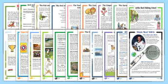 KS1 Reading Comprehensions Bumper Resource Pack - read, book, fiction, non-fiction, understanding, inference,