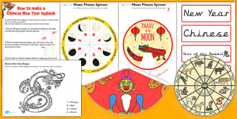 Chinese New Year Lapbook Creation Pack - lapbook, pack, chinese