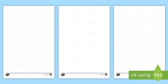 Dotted Paper Activity Sheets - measures, area, scale, drawing, dotted paper, templates, activity sheets, worksheets,Irish