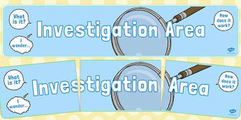 Investigation Area Display Banner - investigation area, display banner
