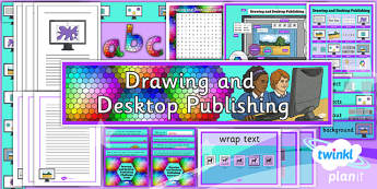 PlanIt - Computing Year 3 - Drawing and Desktop Publishing Unit Additional Resources - planit, computing, year 3, drawing and desktop publishing, additional resources