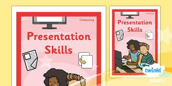 PlanIt - Computing Year 2 - Presentation Skills Unit Book Cover - planit, book cover, computing, year 2, presentation skills