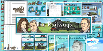 PlanIt - History LKS2 - The Railways Unit Additional Resources