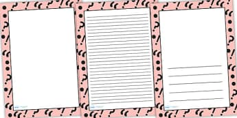 Punctuation Symbols Page Borders - punctuation symbols, punctuation, page borders, punctuation borders, punctuation symbols page, punctuation display